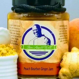 Peach Bourbon Ginger Jam